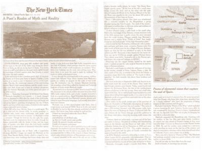 Berlanga en el New York Times