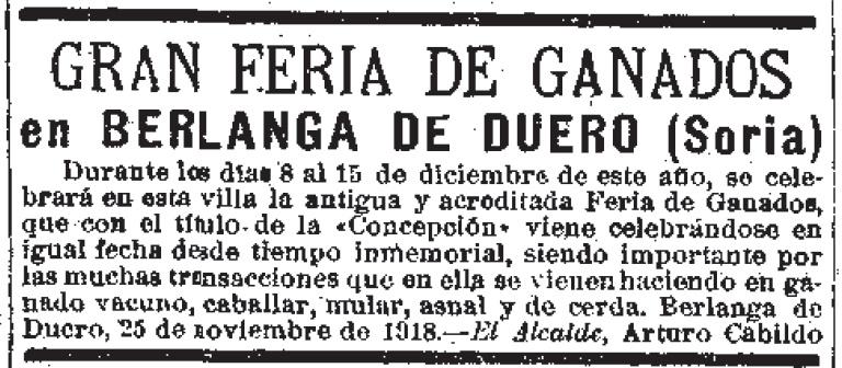 Feria de 1918