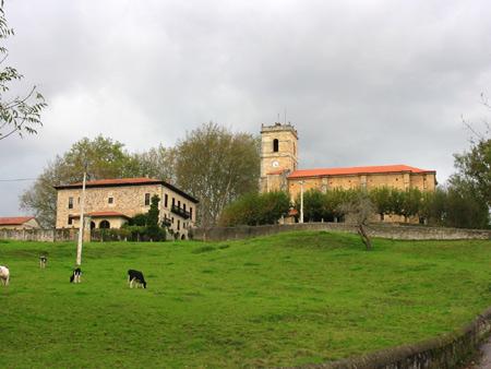 Casona e Iglesia